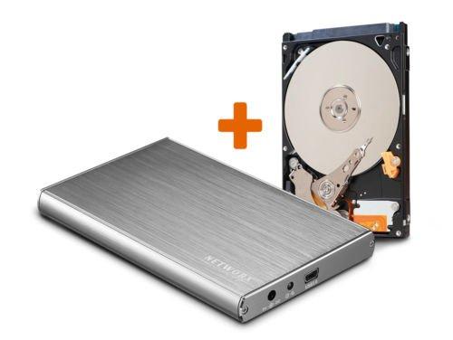 """[Ebay] HGST Travelstar Z5K500 500GB (2,5"""" HDD) im USB 3.0 Networx Aluminiumgehäuse für 29,99€"""