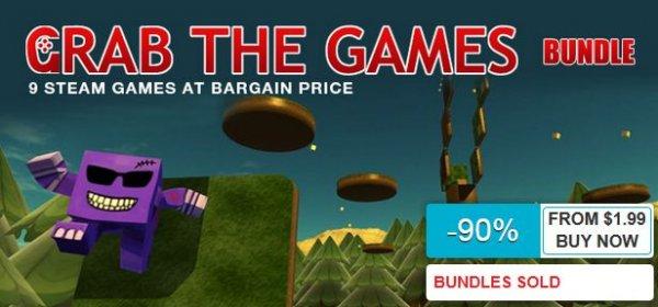 [Steam] Grab the Games Bundle (9 Spiele, alle mit Sammelkarten) ab 0,90€ @ indiegala