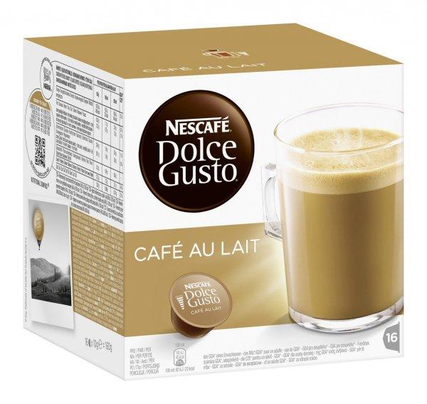 Nescafé Dolce Gusto Cafe au Lait (und andere Sorten), 3er Pack [Amazon Spar Abo + Prime] 10,80€