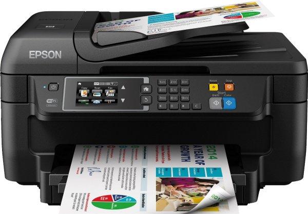 Epson WorkForce WF-2660DWF Tintenstrahl-Multifunktionsgerät (Drucken, Scannen Kopieren und Faxen) [Amazon.de]