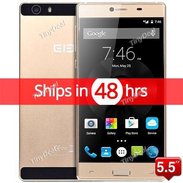 Elephone M2 GOLD 5.5 Zoll FHD OCTA CORE 3GB RAM 32GB ROM Android 5.1 4G LTE Front Fingerprint Scanner VERSAND AUS DE @tinydeal