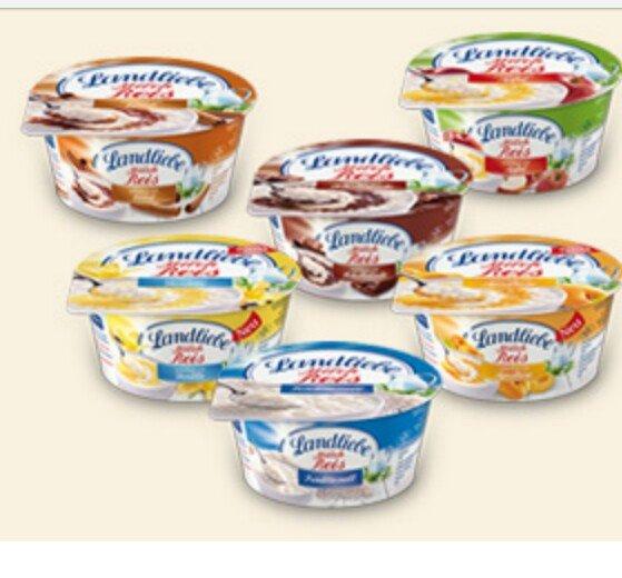 Landliebe Milchreis|Joghurt Rewe