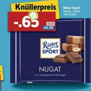 [LIDL] Ritter Sport 100g ab Montag 22.02
