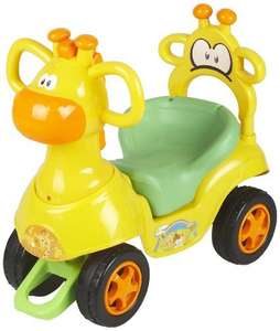 [Amazon prime] Chipolino CHIPROCG01402YG - Giraffe Kinderauto Ride On, blau/gelb