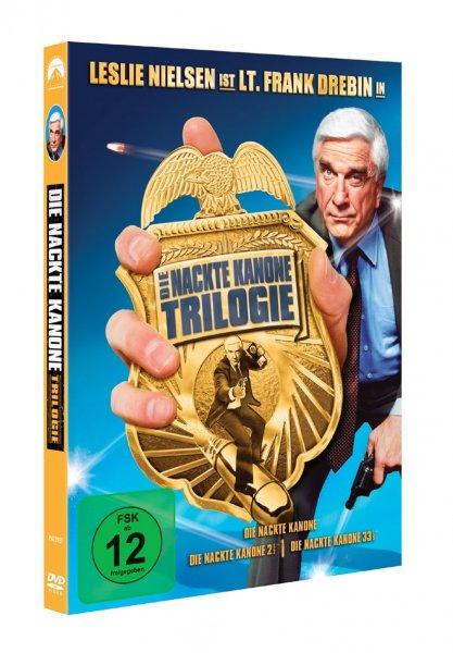 (Amazon.de) Die Nackte Kanone Trilogie [3 DVDs] - 6,97 PRIME
