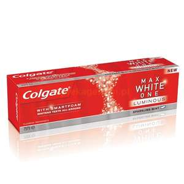 [GLOBUS BUNDESWEIT] Colgate Max White One 75ml für 0,45€ (Preis+Coupon)