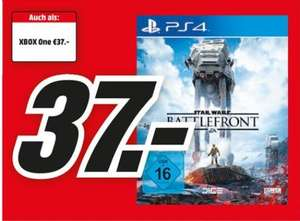(Lokal) Star Wars Battlefront für PS4 & XBox One, 37€ , MediaMarkt Dortmund