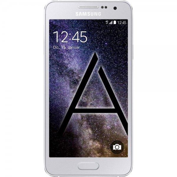 [Conrad] Samsung Galaxy A3 LTE (4,5'' qHD AMOLED, Snapdragon 410 Quadcore, 1,5 GB RAM, 16 GB intern, Unibody-Metallgehäuse, Android 5.0) für 133,45€