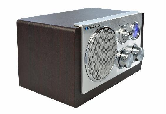 [Dealclub] Blaupunkt RX 18-1 Retro Design Radio mit Analog Tuner AM/FM, 3 Watt
