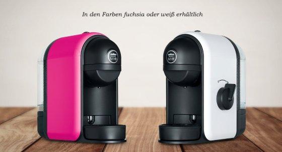Lavazza A Modo Mio Minu LM 500 mit 32 Kapseln für 25,50€ @ vente-privee - kleine süße Kapselmaschine