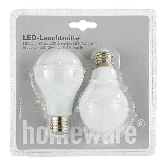 [xxxlshop.de] LED Leuchtmittel 2er-Set E27 in WEISS
