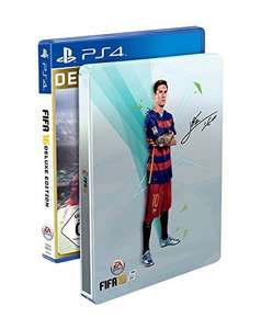 [amazon.co.uk] FIFA 16 Deluxe - Steelbook Edition (PS4 / Xbox One)