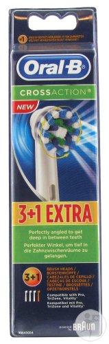 [Kaufland Lokal] Oral-B Aufsteckbürsten 4er (3+1) CrossAction für 5,-