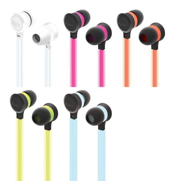 iLuv Neon Glow Neonglows In Ear Kopfhörer 20% unter idealo-Bestpreis