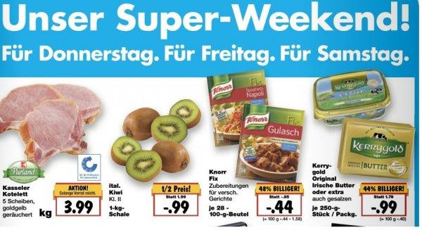 [Kaufland Super-Weekend] - ital. Kiwi 1kg für 0,99 statt 1.99