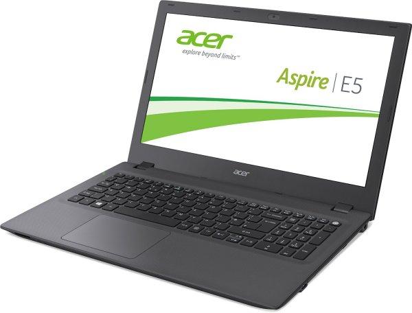 "Acer Aspire E5 (15,6"" Full-HD (matt), Intel Core i5-5257U, 2,7GHz, 4GB Ram, 500GB HDD, DVD Brenner, Intel Iris Graphics 6100, Wlan ac, Win 10) für 499€ bei Amazon.de"