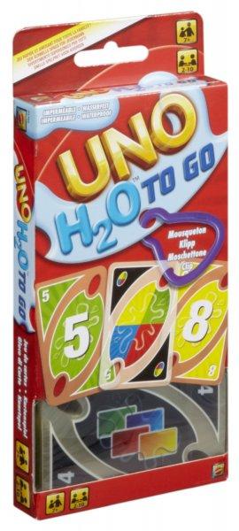 [Amazon Prime & MM Filialabholung] Wasserfeste UNO-Spielkarten H2O To Go für nur 7,49€ + Qipu