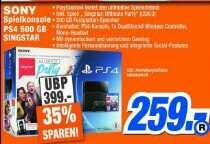 [lok. Expert Melle] PS4 500 GB inklusive Singstar Party 259 €
