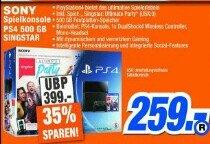 [lok. Expert Melle] PS4 500 GB inklusive Singstar Party 259 €