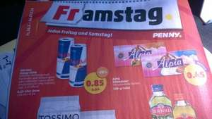 [Penny Framstag] Red Bull Energy Drink - 0,25l Dose - bundesweit