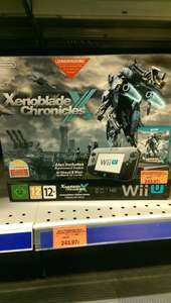 Wii U Premium 32GB Xenoblade Chronicles X Bundle @ Toys'R'Us KaufPark Eiche 243,97€