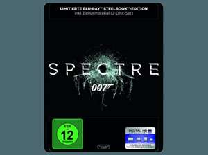 James Bond - Spectre (Steelbook) Blu-ray + DVD: 19,90 € inkl. Versand