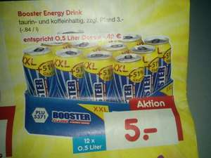 [Netto MD eventuell lokal] Booster 0,5l im 12er Pack