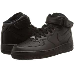 Nike Air Force One Black/Mid 07 Herren