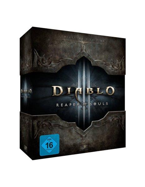 [Saturn.at] Diablo 3: Reaper of Souls - Collector's Edition (PC) (Mauspad, Artbook, Soundtrack, DLC) für 26,60€ inkl. Versand nach DE