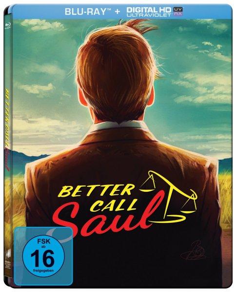Better Call Saul - Die komplette erste Season (Steelbook) [Blu-ray] [Limited Edition] für 19,97€
