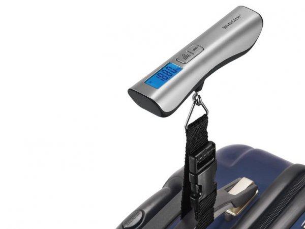 Digitale Kofferwaage mit Data-Lock-Funktion für 4,99€ online und in der Filiale oder einfache digitale Kofferwaage für 2,99 € nur in der Filiale bei Lidl ab 29.2.2016