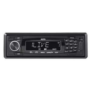 [@REAL.de] AEG, Autoradio AR4020, CD/MP3, USB, SD-Slot, 4 x 40 Watt