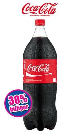 2-l-Flasche Coca-Cola für 0,99 € ab Freitag (26.2.2016) bei Norma