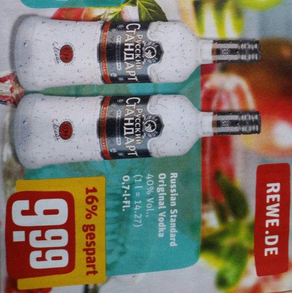 Russian Standard Vodka 0,7l 40% ab Montag 22.02. bei Rewe