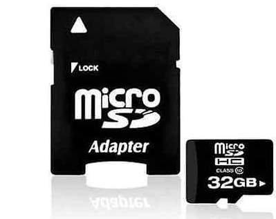 [eBay-China] microSDHC Class 10 mit 32GB inkl. SD-Adapter für 2,83€