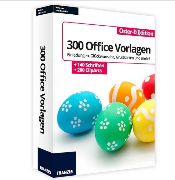 300 kostenlose Word-, Office- & Outlook-Vorlagen zu Ostern bei Computerbild