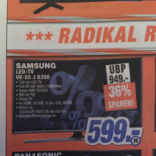 (Lokal Leipzig?) Samsung UE55J6350 bei expert als Restposten