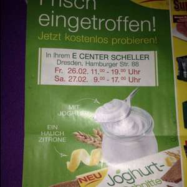 Joghurt Schnitte @ E Center Scheller Dresden
