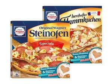 [Lidl] Wagner Steinofen Pizza / Herzhafter Flammkuchen ab Mo, 22.02.