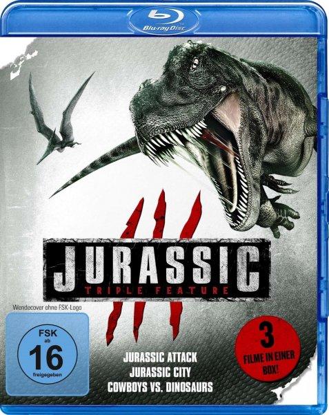 Blu-ray Box - Jurassic Triple Feature (3 Discs) [Vorbestellung] ab €0,98 [@Mediamarkt.de]