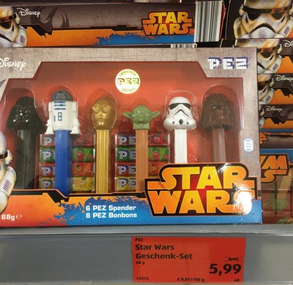 [Lokal ALDI Neukirchen-Vluyn] PEZ Star Wars Geschenk-Set