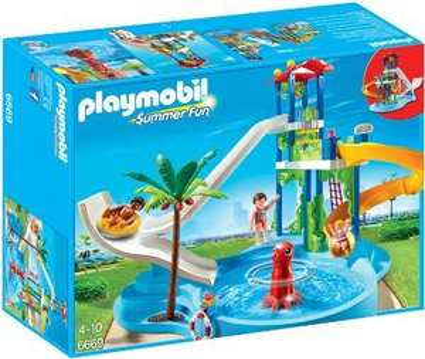 [Amazon-Prime] Playmobil 6669 Aquapark mit Rutsche für 23,76€