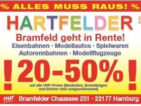Räumungsverkauf [Hamburg/offline] Hartfelder Spielzeug, z.B. LEGO Star Wars Snowspeeder 75049 für 27,- €
