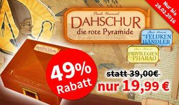 [Spiele-Offensive.de] Gruppendeal: Dahshur die rote Pyramide (inkl. 2 Erweiterungen)