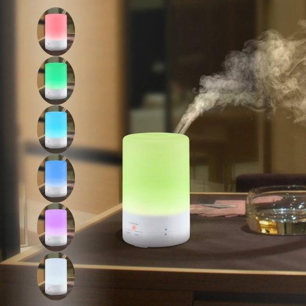 Luftbefeuchter 180ml Aromatherapie ätherisches Öl Diffusor Ultraschall kühlen Nebel Aroma Luftbefeuchter @amazon