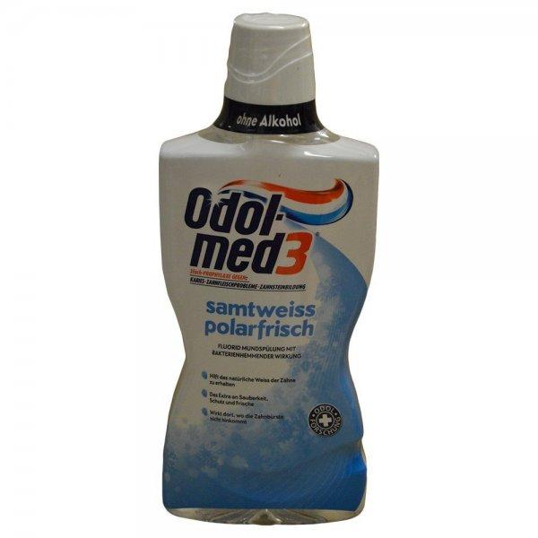 [Amazon Sparabo] Odol-med 3 Samtweiss Polarfrisch Mundspülung, 500 ml