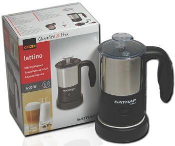 Lattino elektrischer Edelstahl Milchaufschäumer + Milchaufwärmer ab 14,90€ frei Haus