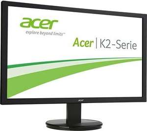[Amazon] Acer K242HQLBbid Monitor (23,6'' FHD TN, 300cd/m², 100.000.000:1, 5ms, HDMI + DVI, VESA) für 99,99€