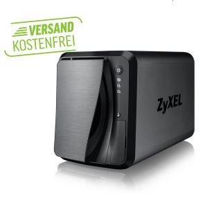 Zyxel NAS 520 2-Bay inkl. 6TB WD Red ( 2 x 3 TB)