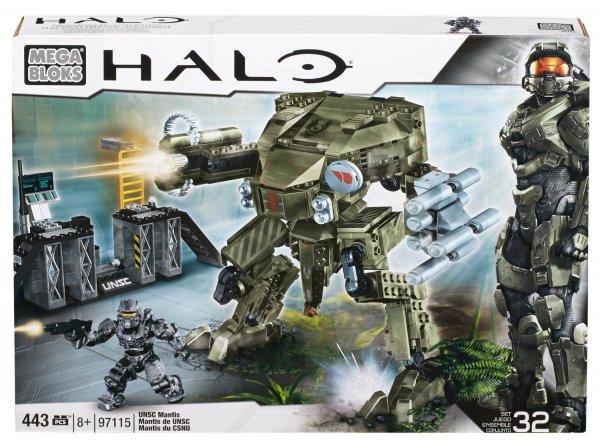 [amazon.de Prime] Mega Bloks 97115 - Halo Unsc Mantis  für 24,30€ / Vergleichspreis 34,90€